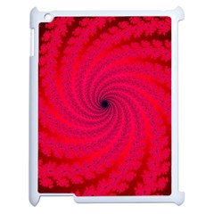Fracrtal Apple Ipad 2 Case (white) by UROCKtheWorldDesign