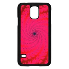 Fracrtal Samsung Galaxy S5 Case (black) by UROCKtheWorldDesign