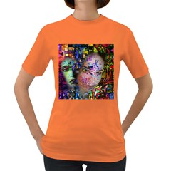 Artistic Confusion Of Brain Fog Women s T Shirt (colored) by FunWithFibro