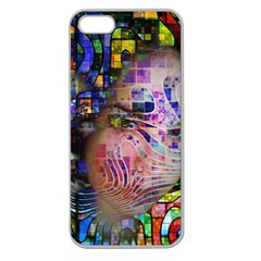 Artistic Confusion Of Brain Fog Apple Seamless Iphone 5 Case (clear) by FunWithFibro