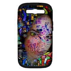 Artistic Confusion Of Brain Fog Samsung Galaxy S Iii Hardshell Case (pc+silicone) by FunWithFibro
