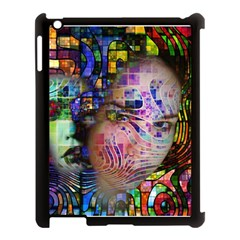 Artistic Confusion Of Brain Fog Apple Ipad 3/4 Case (black) by FunWithFibro