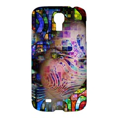 Artistic Confusion Of Brain Fog Samsung Galaxy S4 I9500/i9505 Hardshell Case by FunWithFibro