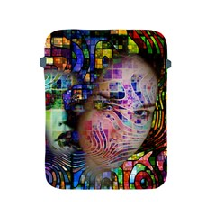 Artistic Confusion Of Brain Fog Apple Ipad Protective Sleeve by FunWithFibro