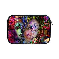Artistic Confusion Of Brain Fog Apple Ipad Mini Zippered Sleeve by FunWithFibro