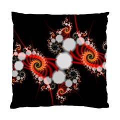 Mysterious Dance In Orange, Gold, White In Joy Cushion Case (single Sided)  by DianeClancy