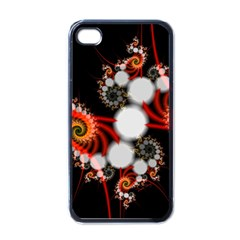 Mysterious Dance In Orange, Gold, White In Joy Apple Iphone 4 Case (black) by DianeClancy