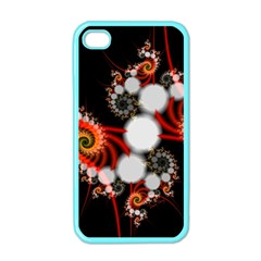 Mysterious Dance In Orange, Gold, White In Joy Apple Iphone 4 Case (color) by DianeClancy