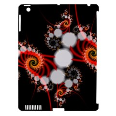 Mysterious Dance In Orange, Gold, White In Joy Apple Ipad 3/4 Hardshell Case (compatible With Smart Cover) by DianeClancy