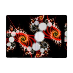 Mysterious Dance In Orange, Gold, White In Joy Apple Ipad Mini Flip Case by DianeClancy