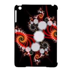 Mysterious Dance In Orange, Gold, White In Joy Apple Ipad Mini Hardshell Case (compatible With Smart Cover) by DianeClancy