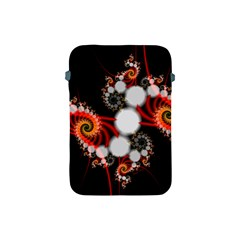 Mysterious Dance In Orange, Gold, White In Joy Apple Ipad Mini Protective Sleeve by DianeClancy