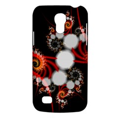 Mysterious Dance In Orange, Gold, White In Joy Samsung Galaxy S4 Mini (gt I9190) Hardshell Case  by DianeClancy
