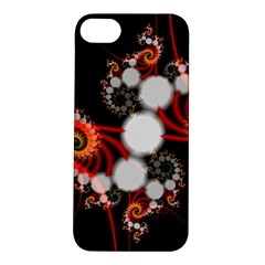 Mysterious Dance In Orange, Gold, White In Joy Apple Iphone 5s Hardshell Case by DianeClancy