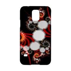 Mysterious Dance In Orange, Gold, White In Joy Samsung Galaxy S5 Hardshell Case  by DianeClancy