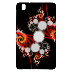Mysterious Dance In Orange, Gold, White In Joy Samsung Galaxy Tab Pro 8 4 Hardshell Case by DianeClancy