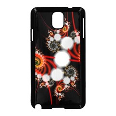 Mysterious Dance In Orange, Gold, White In Joy Samsung Galaxy Note 3 Neo Hardshell Case (black) by DianeClancy