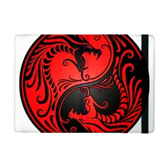 Yin Yang Dragons Red And Black Apple Ipad Mini Flip Case