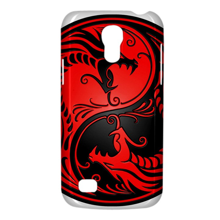 Yin Yang Dragons Red and Black Samsung Galaxy S4 Mini (GT-I9190) Hardshell Case