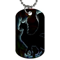 Dragon Aura Dog Tag (two Sided)  by StuffOrSomething