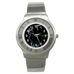 Dragon Aura Stainless Steel Watch (slim) by StuffOrSomething