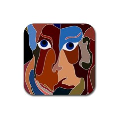 Abstract God Drink Coaster (square) by AlfredFoxArt