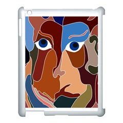 Abstract God Apple Ipad 3/4 Case (white) by AlfredFoxArt