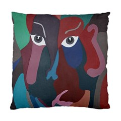 Abstract God Pastel Cushion Case (single Sided)  by AlfredFoxArt