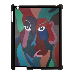 Abstract God Pastel Apple Ipad 3/4 Case (black) by AlfredFoxArt