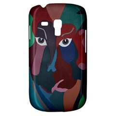 Abstract God Pastel Samsung Galaxy S3 Mini I8190 Hardshell Case by AlfredFoxArt