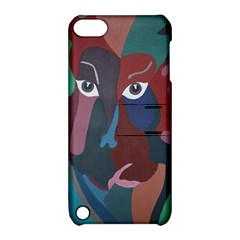 Abstract God Pastel Apple Ipod Touch 5 Hardshell Case With Stand by AlfredFoxArt
