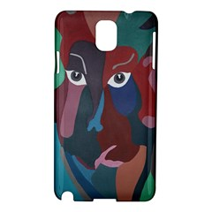Abstract God Pastel Samsung Galaxy Note 3 N9005 Hardshell Case by AlfredFoxArt