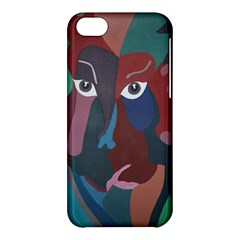 Abstract God Pastel Apple Iphone 5c Hardshell Case by AlfredFoxArt