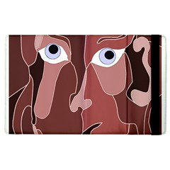 Abstract God Lilac Apple Ipad 3/4 Flip Case by AlfredFoxArt