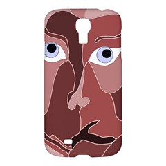Abstract God Lilac Samsung Galaxy S4 I9500/i9505 Hardshell Case by AlfredFoxArt