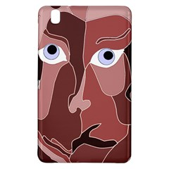 Abstract God Lilac Samsung Galaxy Tab Pro 8 4 Hardshell Case by AlfredFoxArt