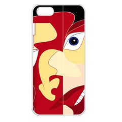Soul Man Apple Iphone 5 Seamless Case (white) by AlfredFoxArt