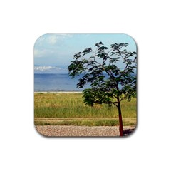 Sea Of Galilee Drink Coaster (square) by AlfredFoxArt