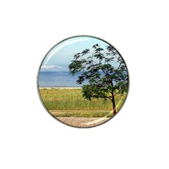 Sea Of Galilee Golf Ball Marker (for Hat Clip)