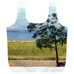 Sea Of Galilee Reusable Bag (xl) by AlfredFoxArt