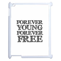 Forever Young Apple Ipad 2 Case (white)