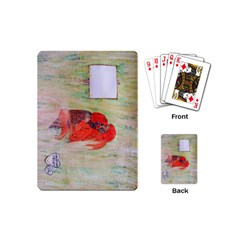 Neanderthal Love Playing Cards (mini) by creationtruth
