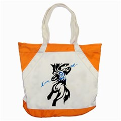 Alpha Dog Accent Tote Bag by Viewtifuldrew
