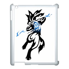 Alpha Dog Apple Ipad 3/4 Case (white) by Viewtifuldrew