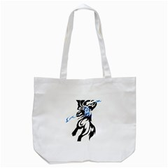 Alpha Dog Tote Bag (white) by Viewtifuldrew
