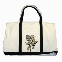 The Flying Dragon Two Toned Tote Bag by Viewtifuldrew