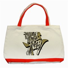 The Flying Dragon Classic Tote Bag (red) by Viewtifuldrew