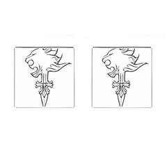 Maybe I m A Lion Cufflinks (square) by Viewtifuldrew