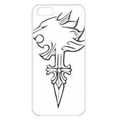 Maybe I m A Lion Apple Iphone 5 Seamless Case (white) by Viewtifuldrew