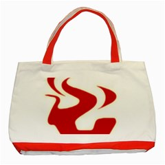 Fever Time Classic Tote Bag (red) by Viewtifuldrew